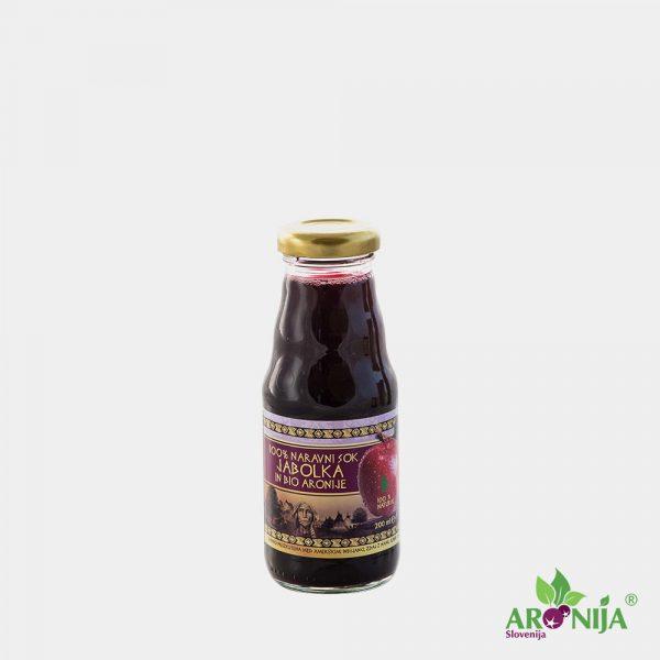 Jabolčni sok z bio aronijo